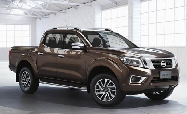 Exterior de Nissan Frontier 2017 precio en México