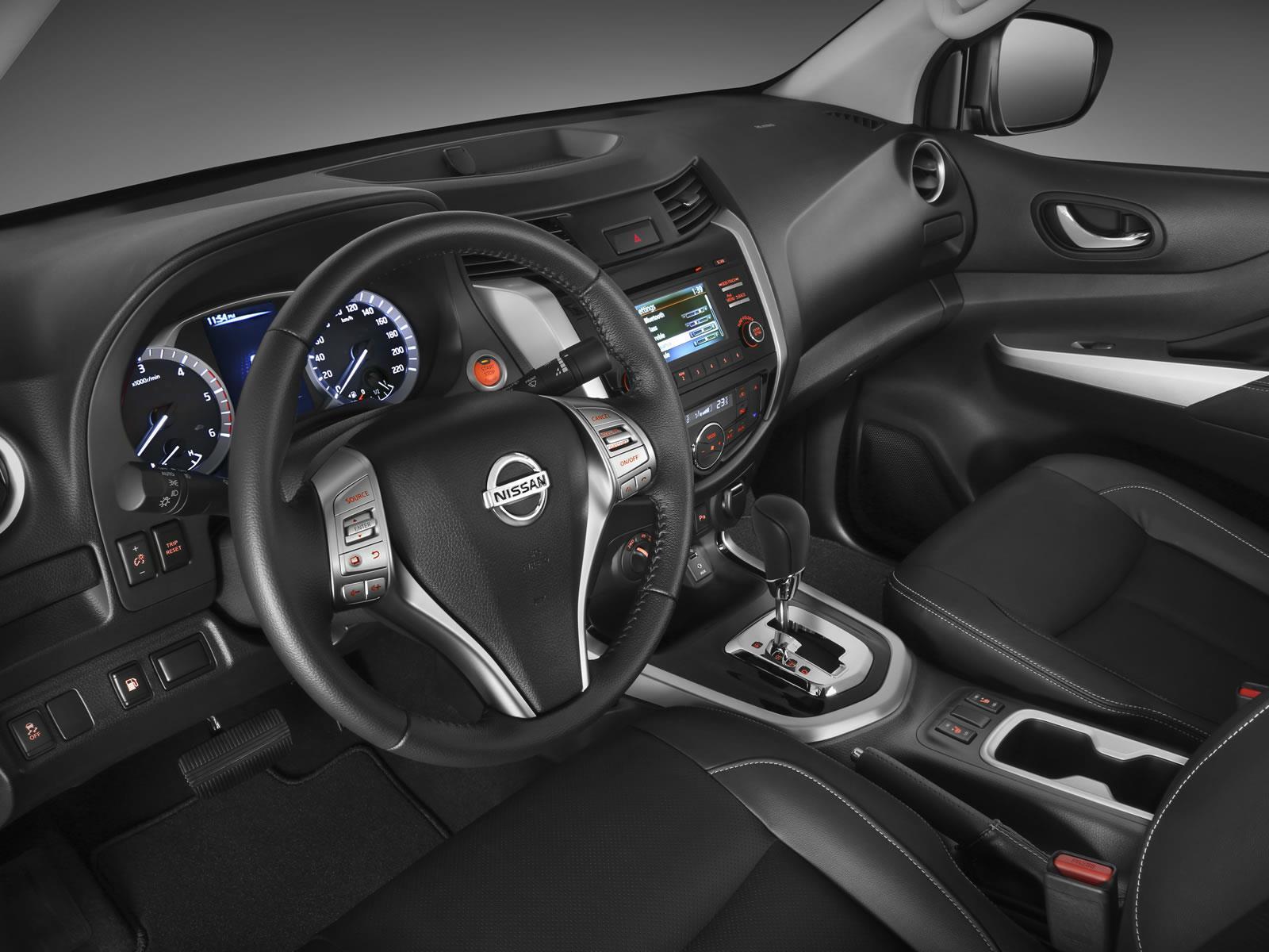 El tablero de Nissan Frontier 2017 precio en México
