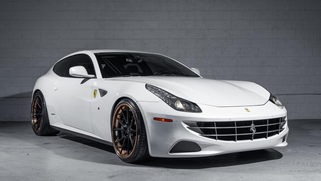 Ferrari FF, un coche con tracción total