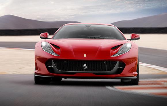 Ferrari 812 con uno de los mejores rendimientos