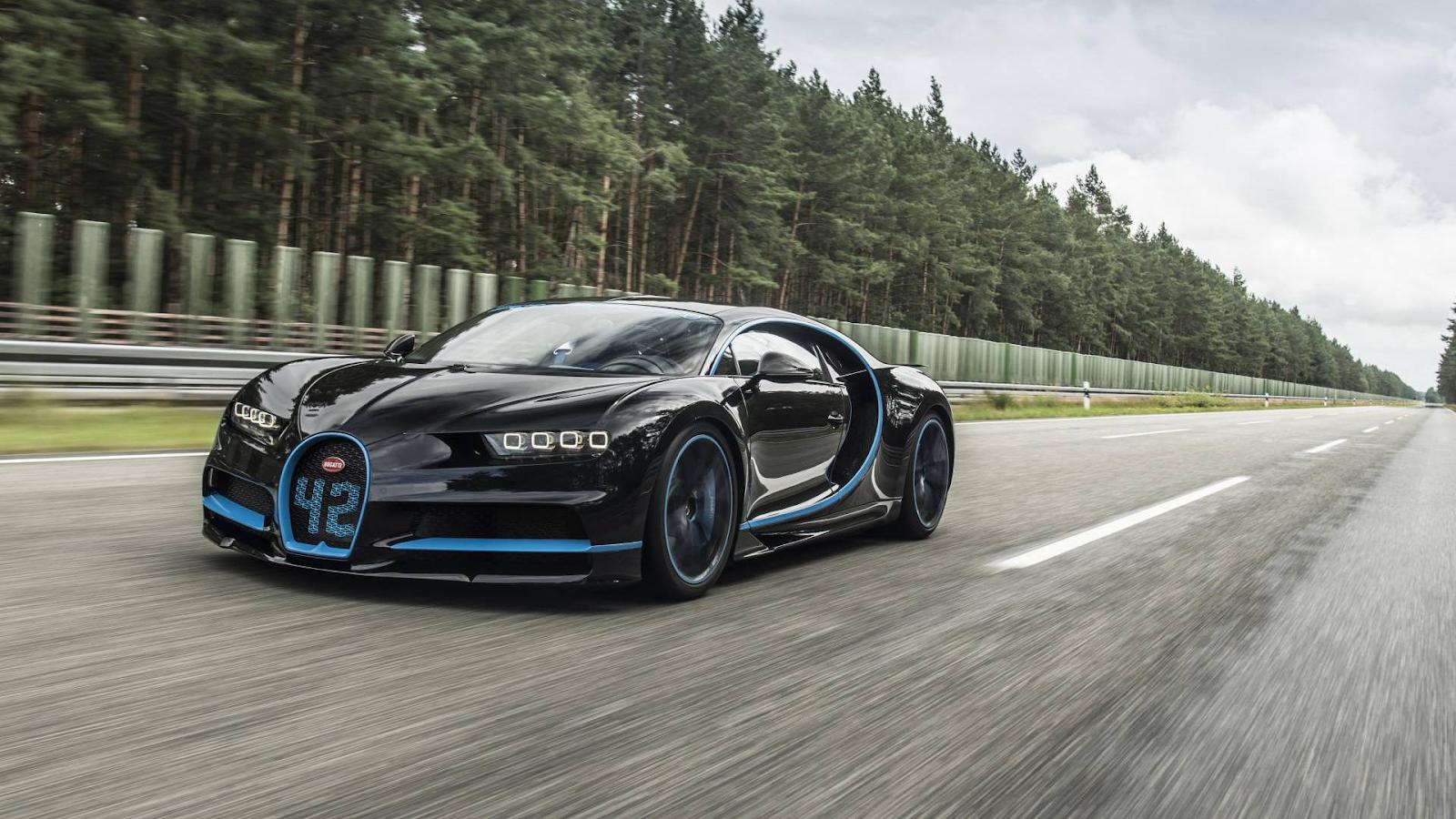 Los carros mas rapidos del mundo Bugatti Chiron