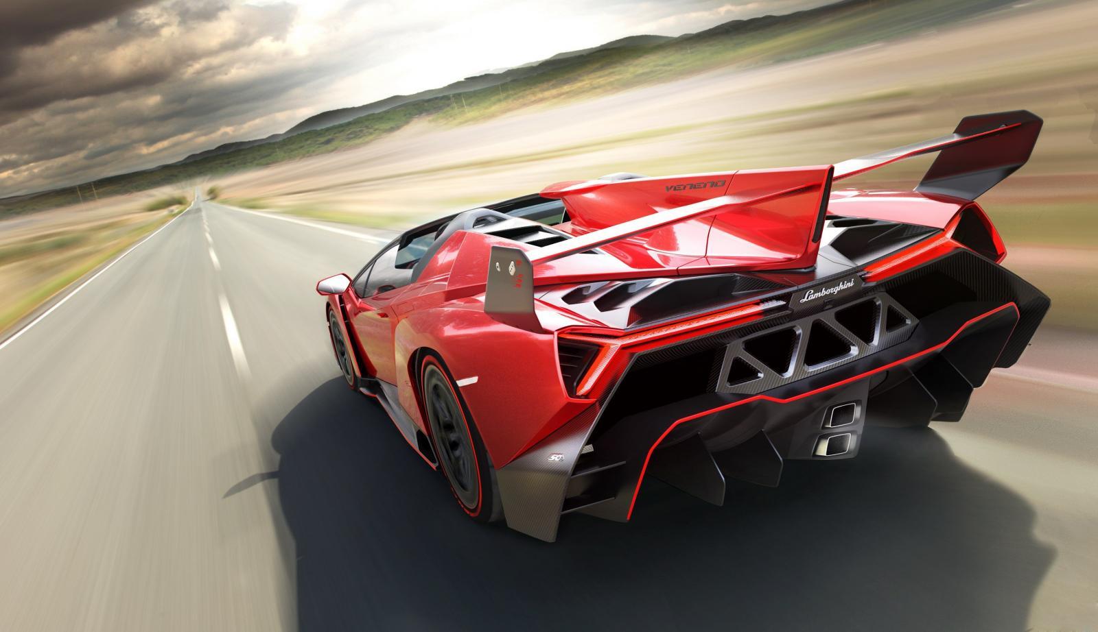 Los carros mas rapidos del mundo Lamborghini Veneno