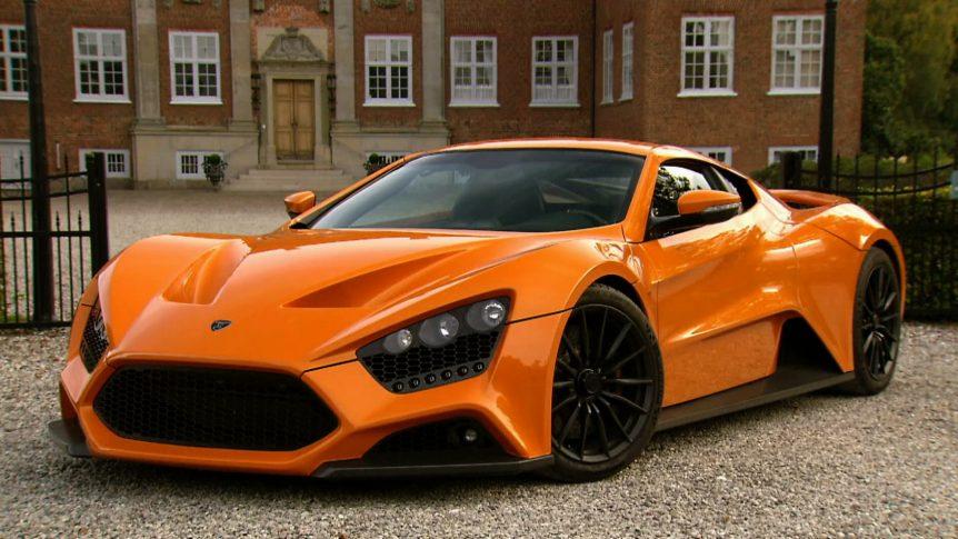 Los carros mas rapidos del mundo Zenvo ST1