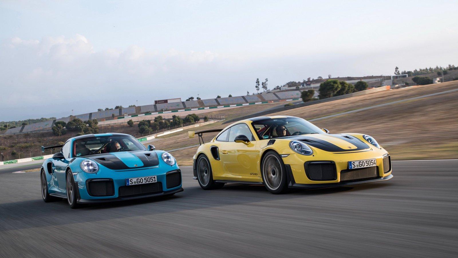 Porsche 911 GT2 RS Club Sport Package