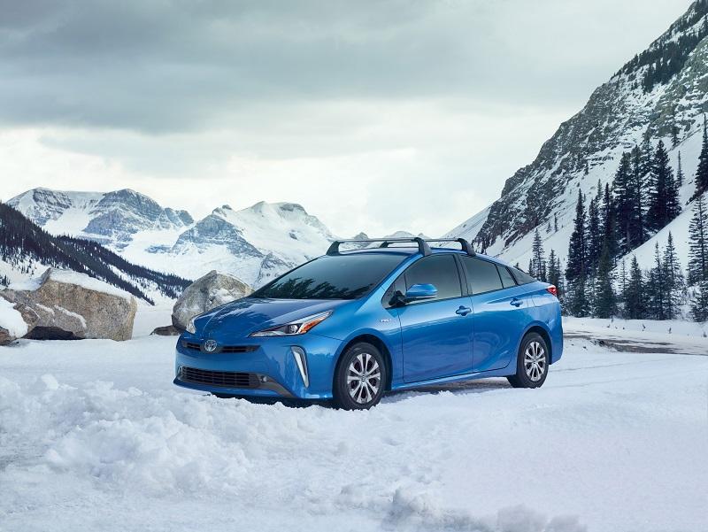 Viene con tracción integral, por eso se mostraba en la nieve
