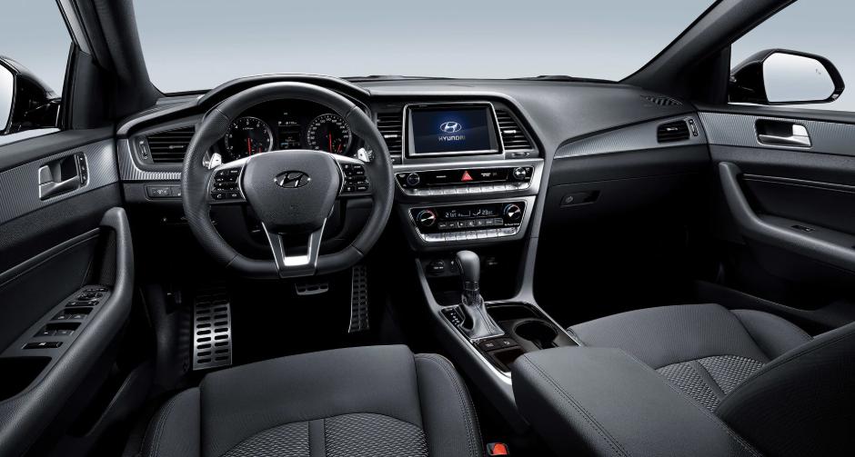 Hyundai Sonata 2019 interior