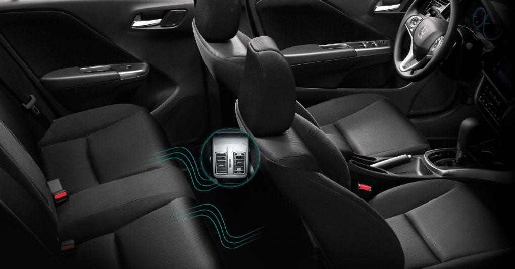 Cabina amplia y cómoda de Honda City 2019 precio en México