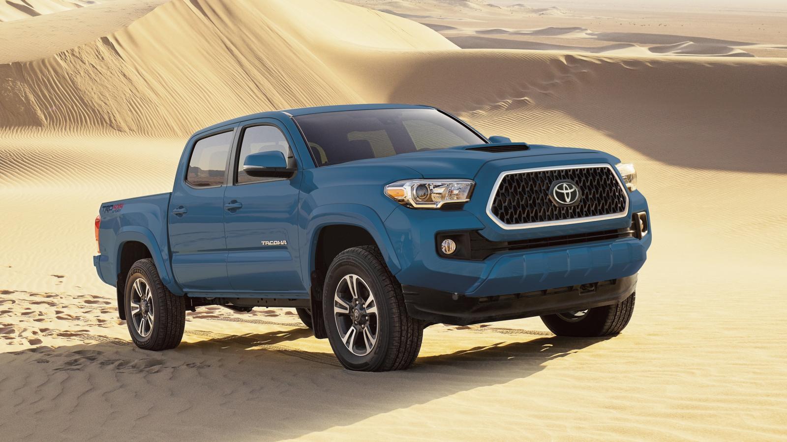 Toyota Tacoma color azul