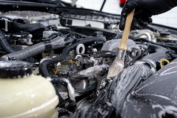 Lavado de motor de autos cómo