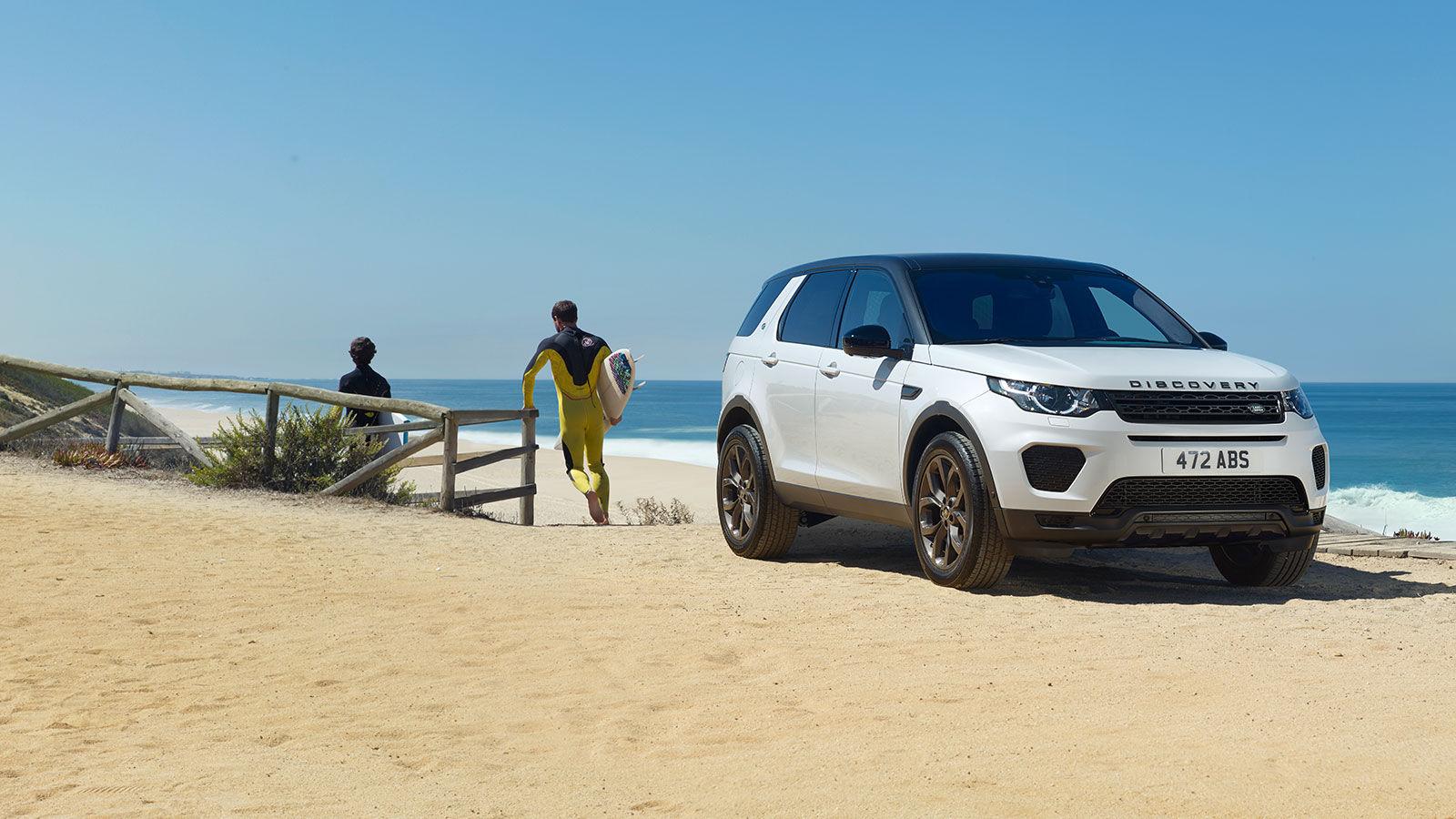 Land Rover lleva al máximo el manejo todoterreno con la Discovery Sport Landmark Edition 2018