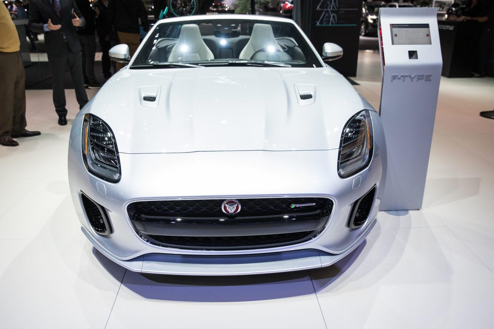Jaguar F Type Auto Show LA