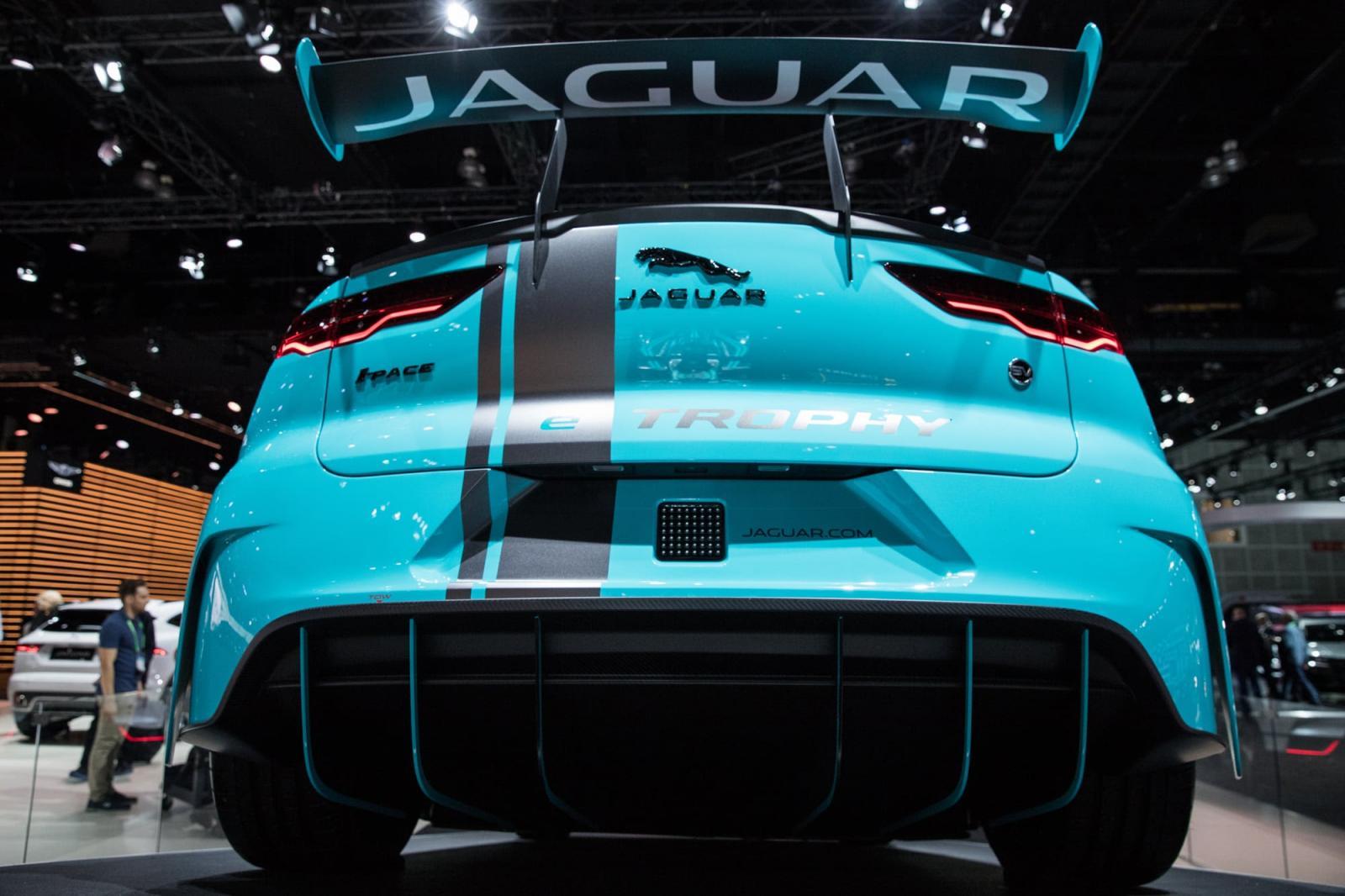 Jaguar I-Pace Trophy Auto Show LA
