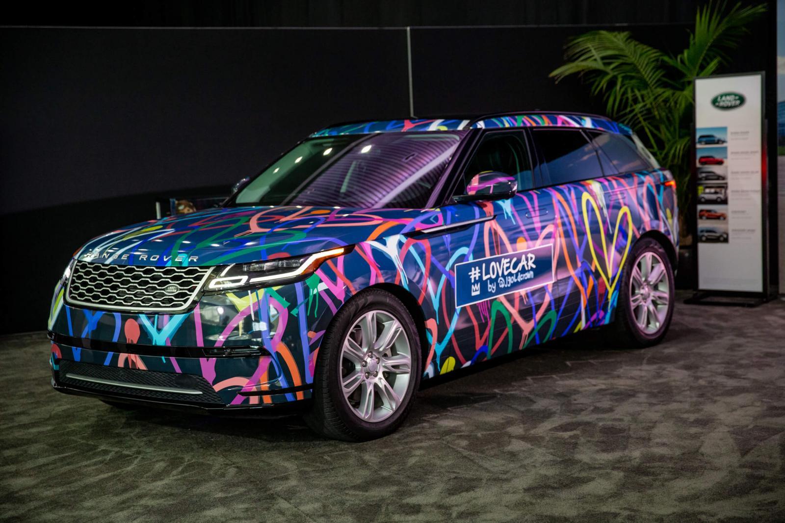 Land Rover Auto Show LA
