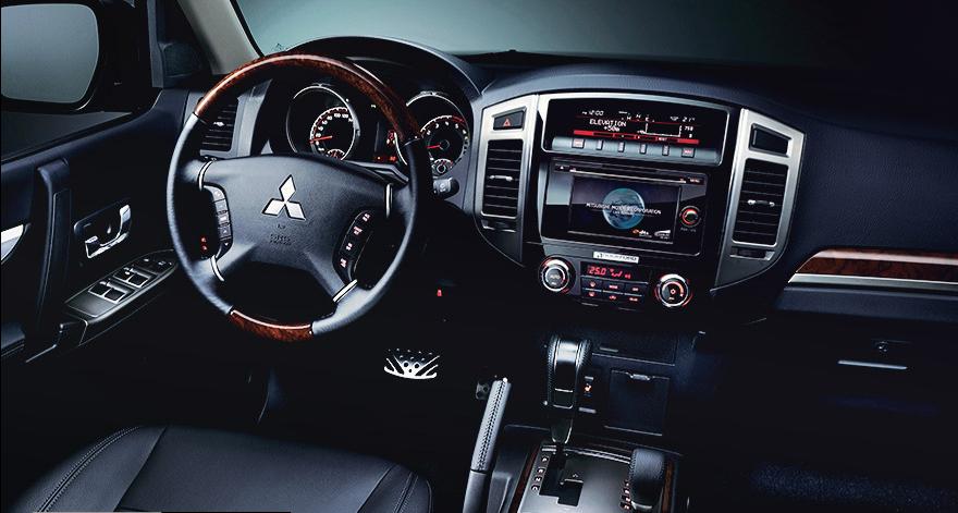 Últimas tecnologías incorporadas de Mitsubishi Montero Limited 2019 precio