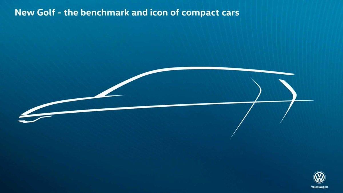 El Volkswagen Golf 8 tendrá líneas estilizadas y faros más delgados