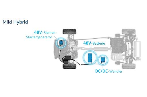 El Volkswagen Golf 8 llevará integrado el sistema Mild Hybrid