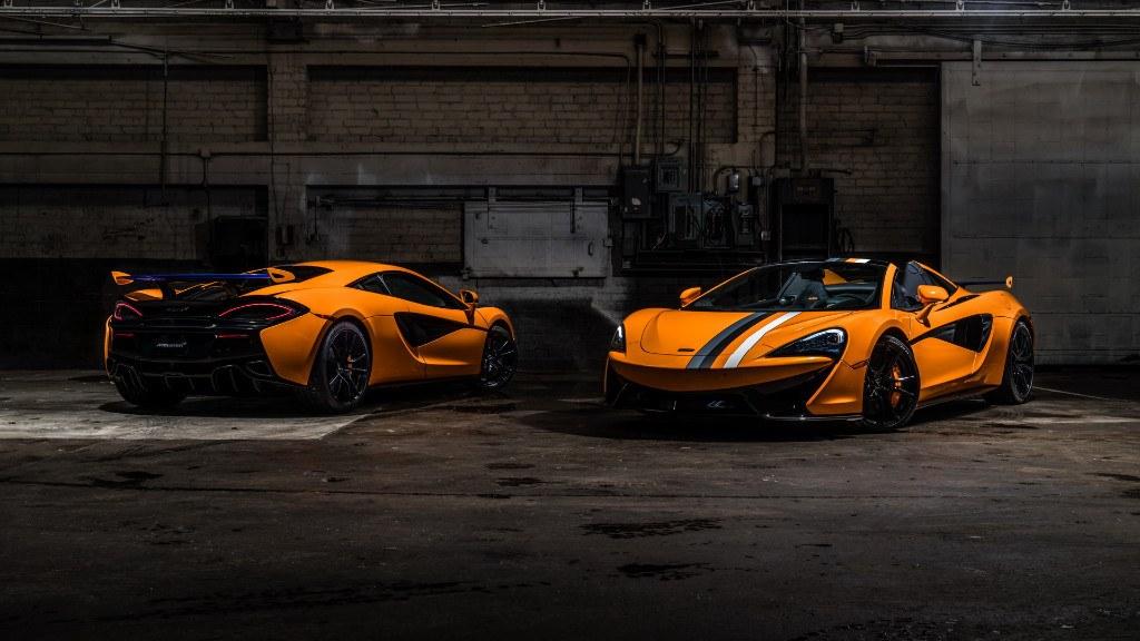 McLaren 570S Papaya Spark