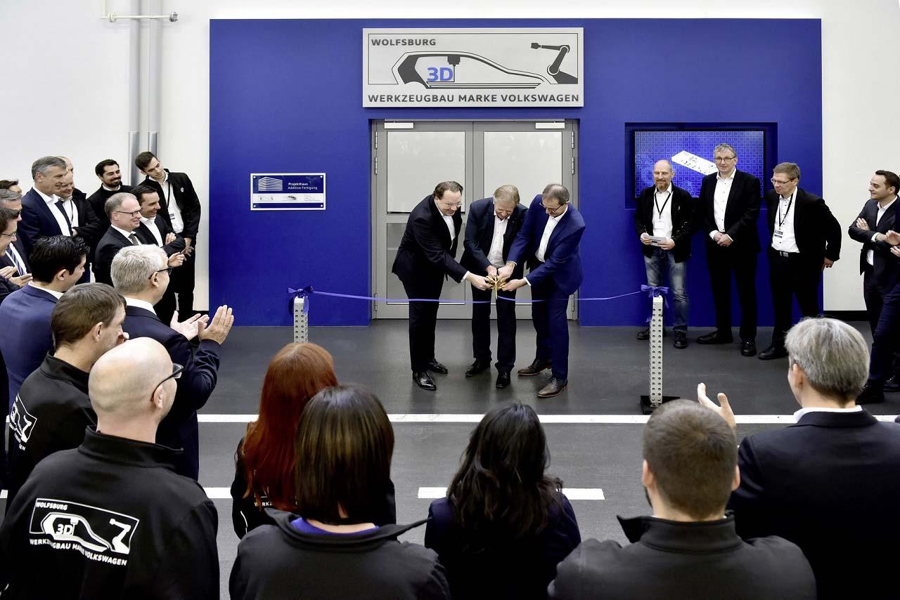 Volkswagen inaugura su centro de impresión en 3D en Wolfsburg