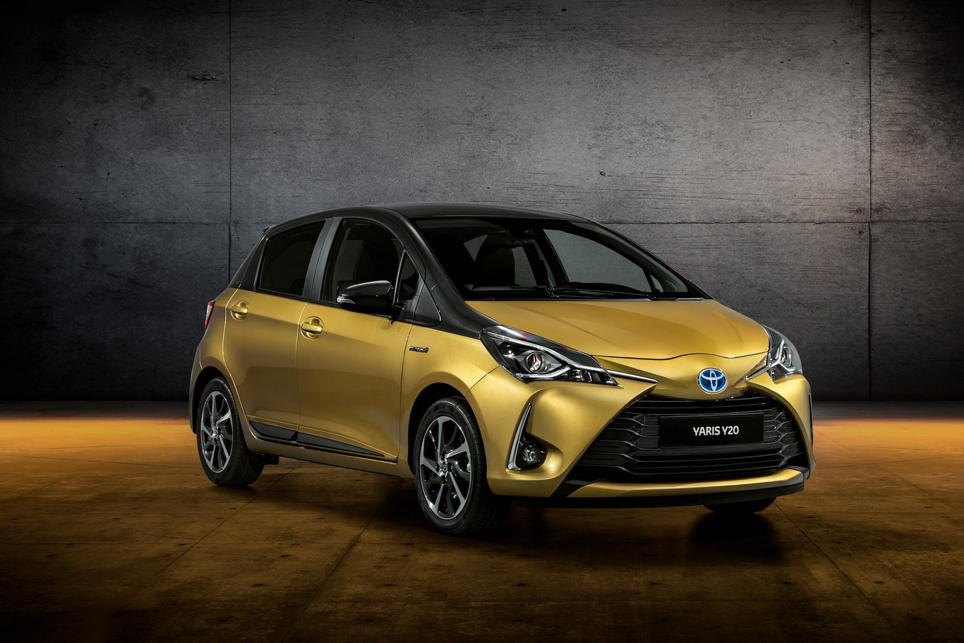 El mismo color del primer Yaris