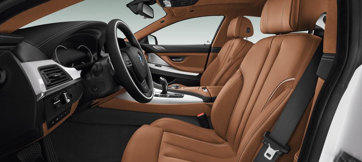 El interior del BMW Serie 6 precio en México maximiza el confort