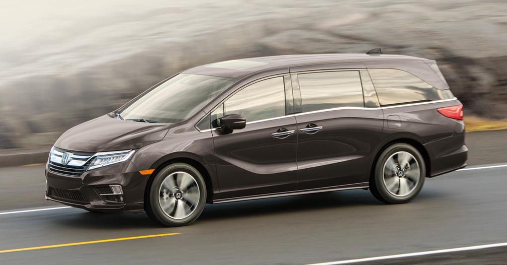 Honda Odyssey Touring 2019 vs Kia Sedona SXL TA 2019