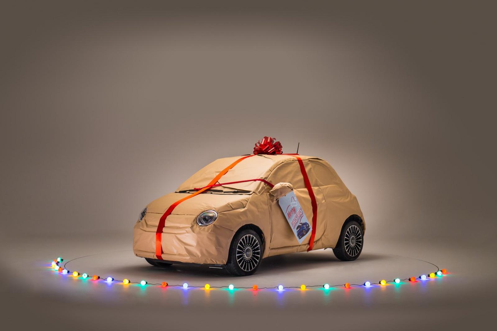 FIAT 500 Navidad