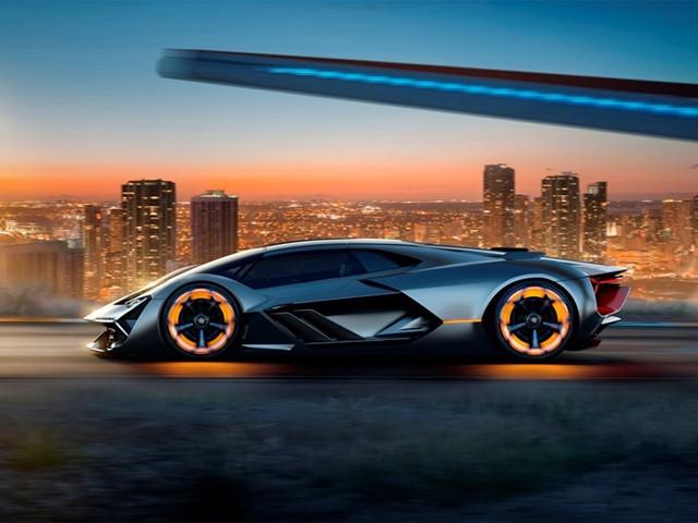El nuevo Lamborghini podría brillar en la oscuridad