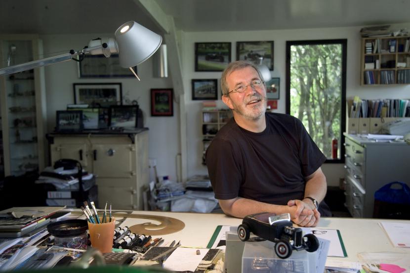 Peter Stevens es otro de los genios del diseño automotriz
