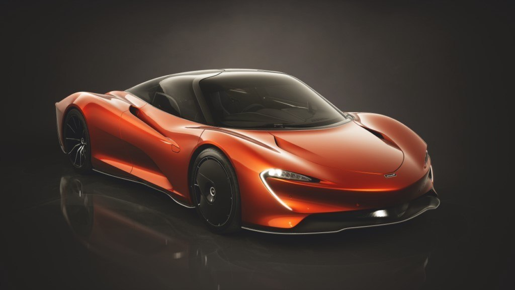 Mclaren Speedtail 2020 Visionary