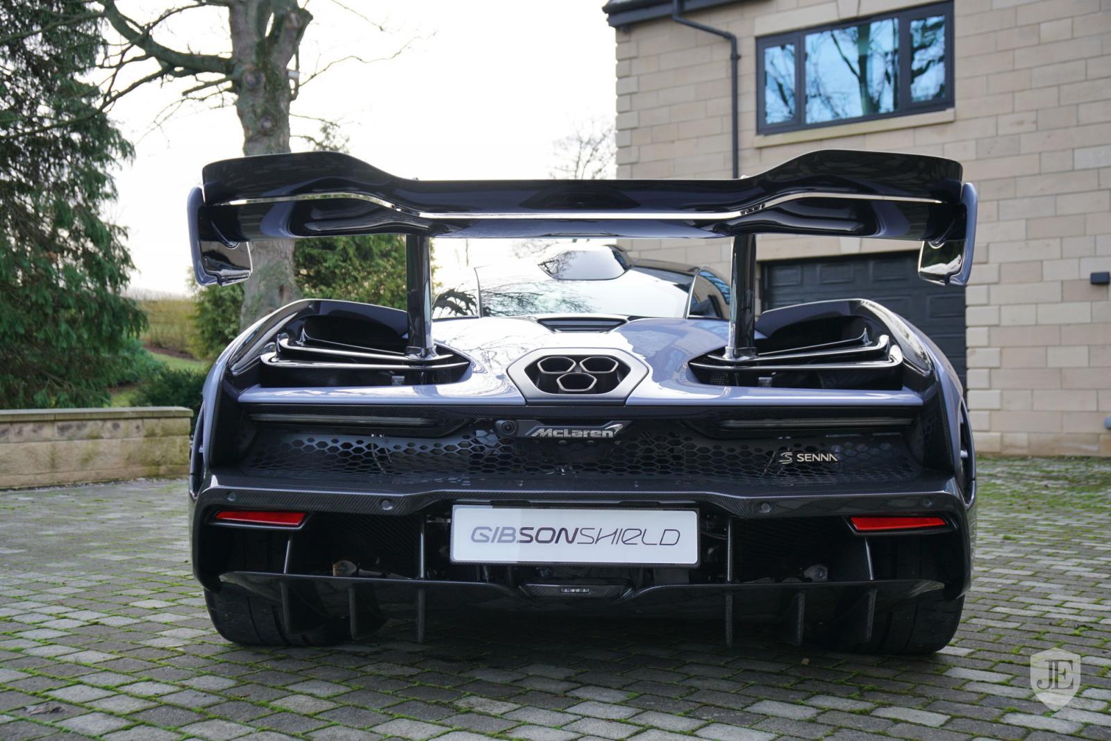 Sale a la venta un McLaren Senna con solo 22 kilómetros recorridos