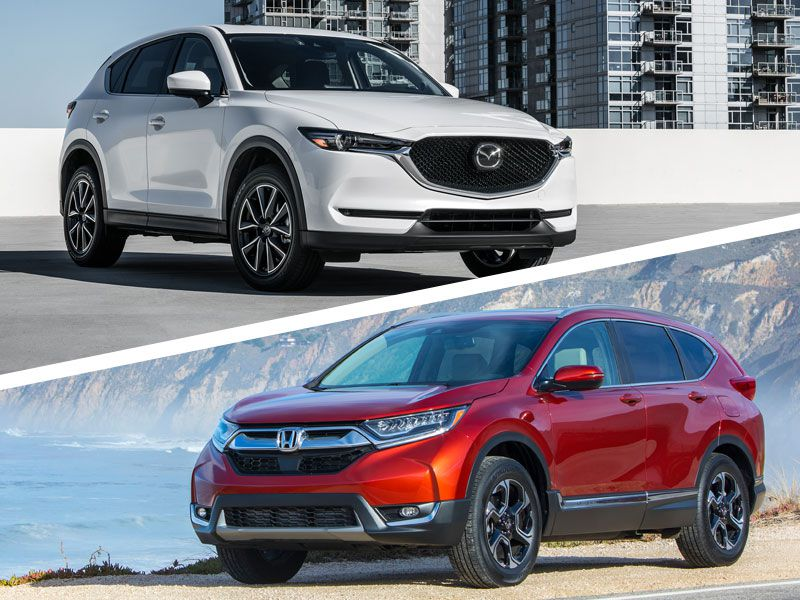 Mazda CX-5 2019 Signature 2WD vs. Honda CR-V 2019 Touring