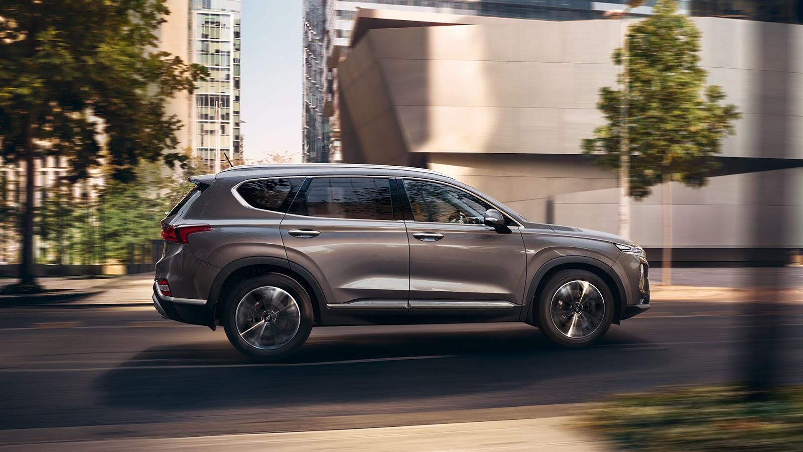 Hyundai Santa Fe 2019 perfil