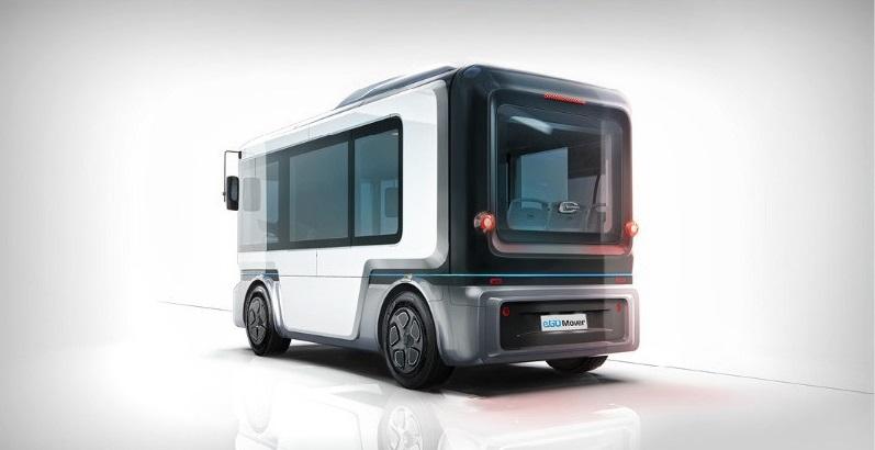 ZF e.GO Mover, el transporte eléctrico y autónomo que llegará en 2020