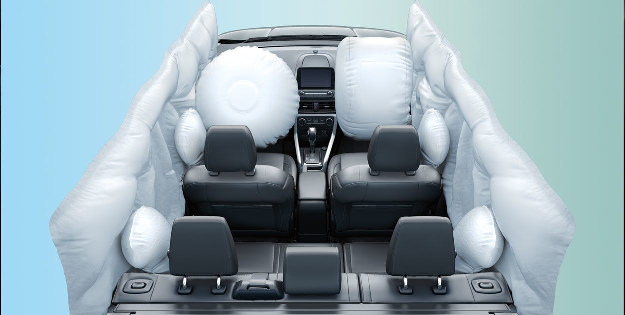 Bolsas de aire de La Ford EcoSport