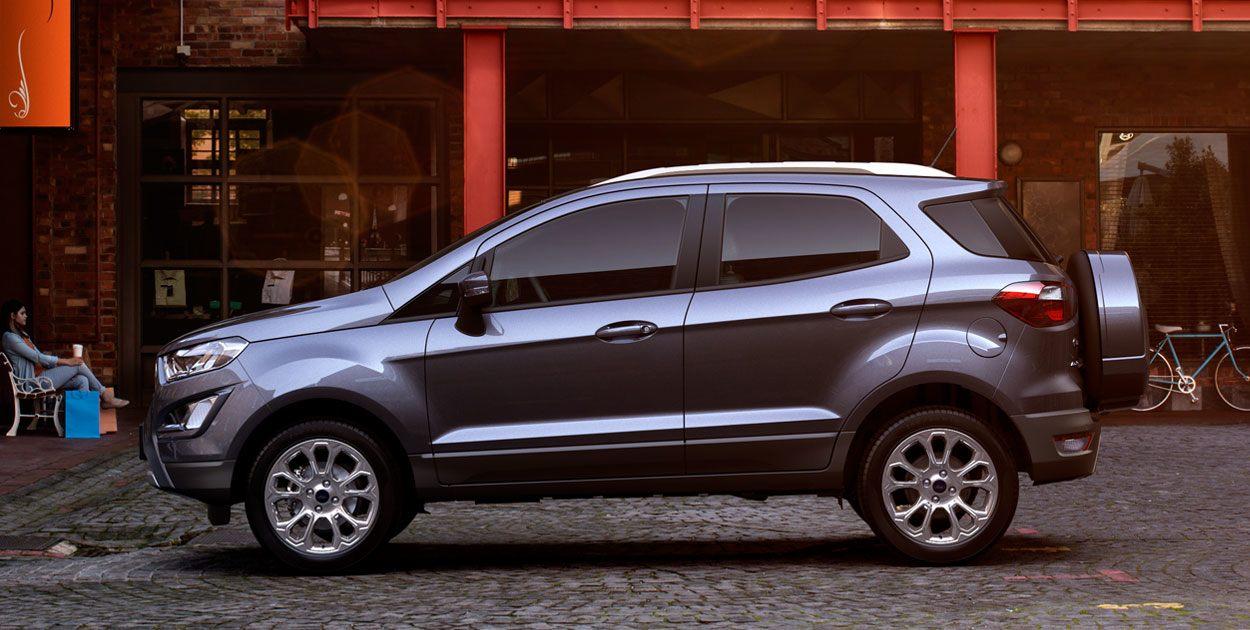 Ford EcoSport 2019 Titanium TA perfil