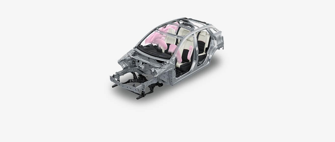 Bolsas de aire de Mazda CX-3