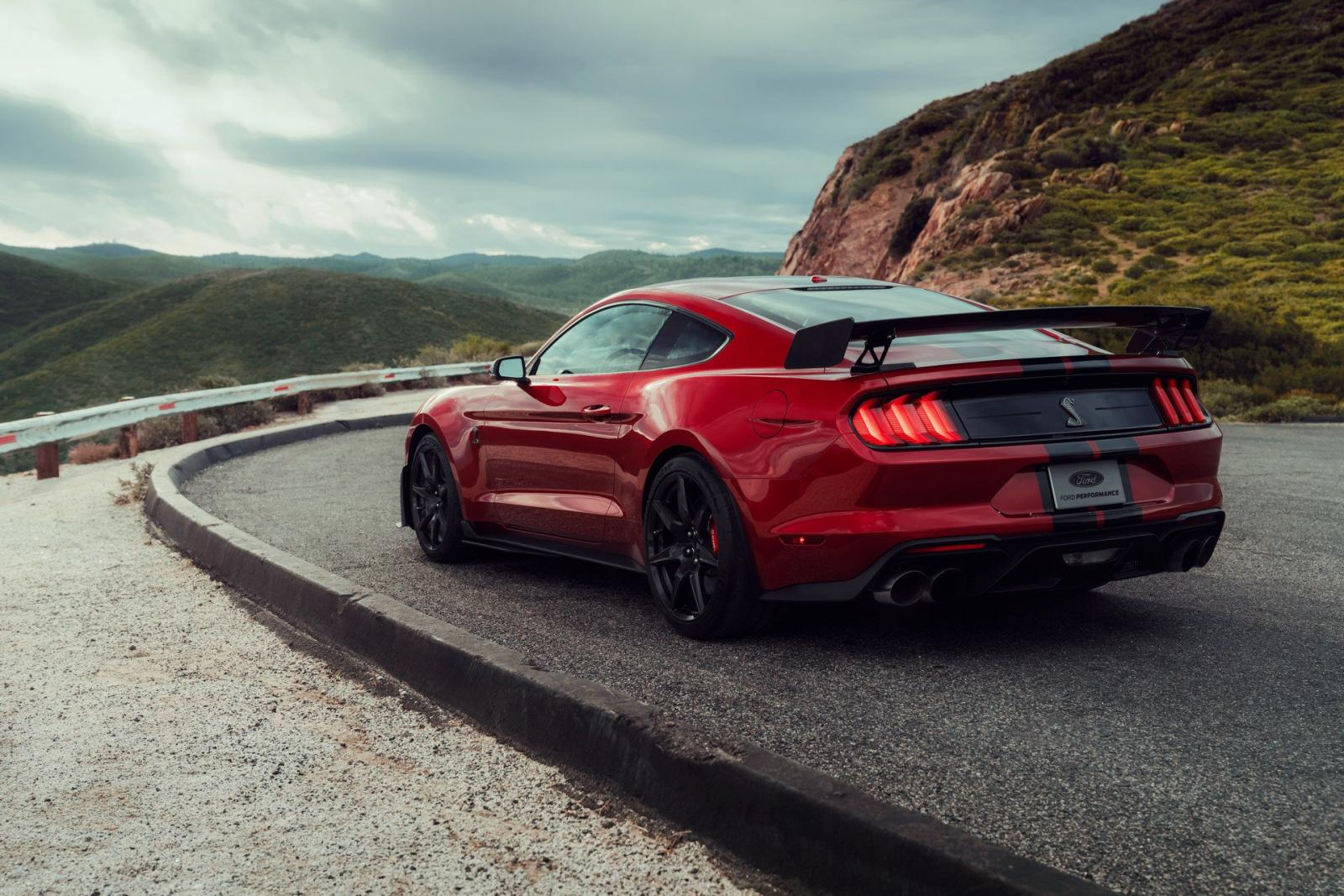 Ford Mustang Shleby GT500 2020