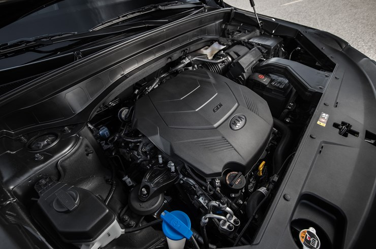 Un V6 de los más nuevos