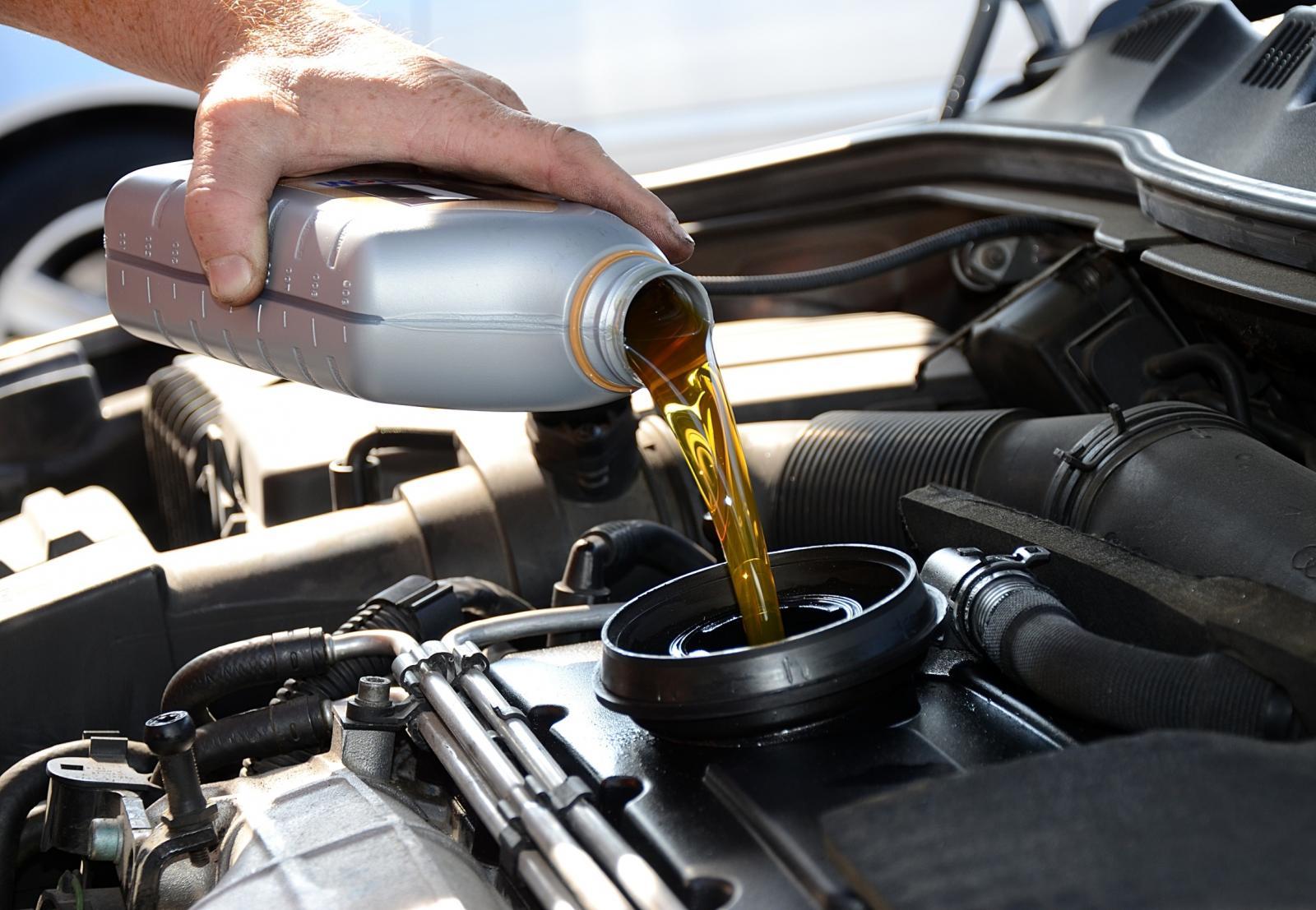 Recorrido del aceite en el motor