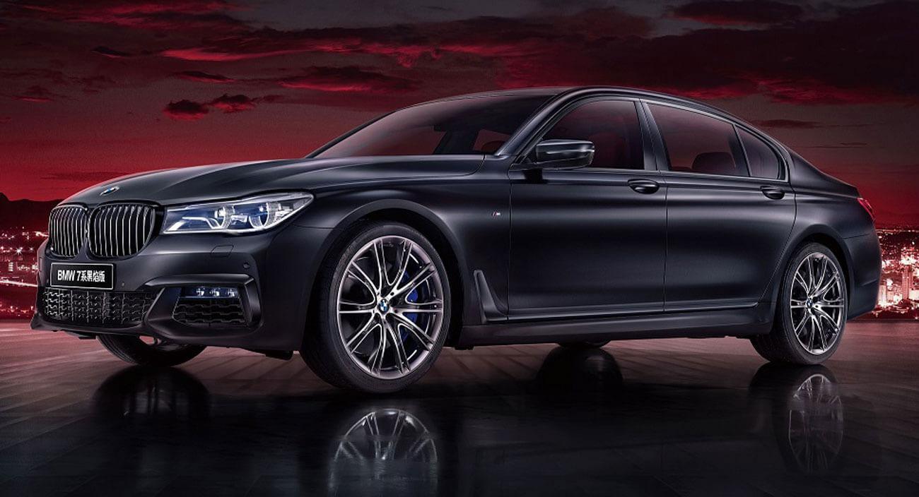 BMW Serie 7 Black Fire Edition, edición exclusiva para China