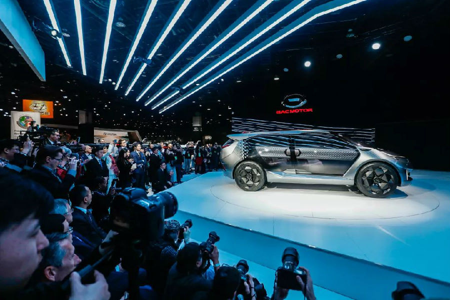 El GAC Entranze Concept debutó en Detroit