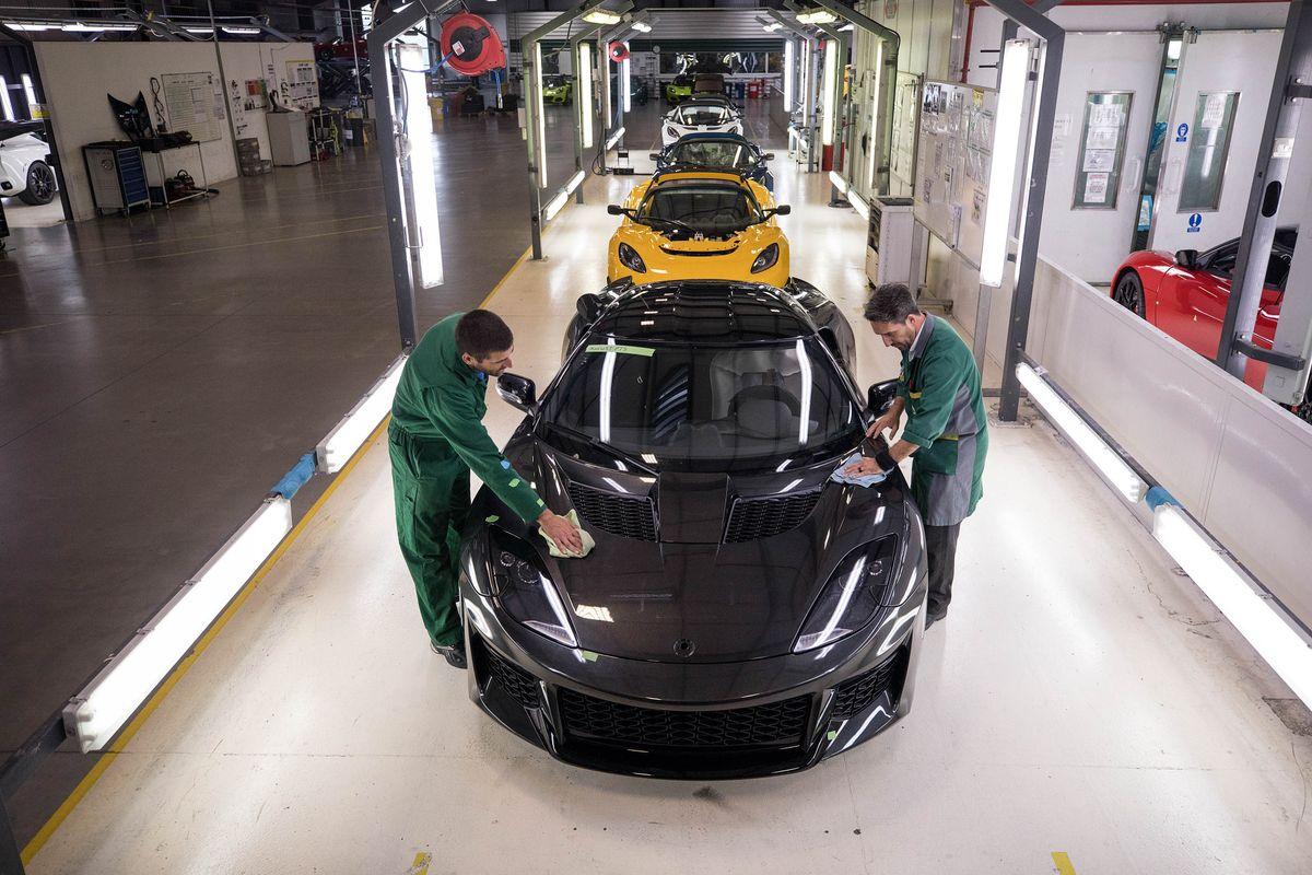 Lotus Evora Factory