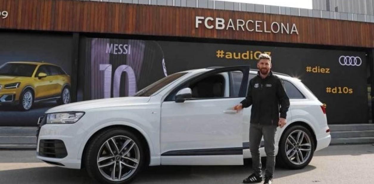 Messi armó una colección más modesta y discreta