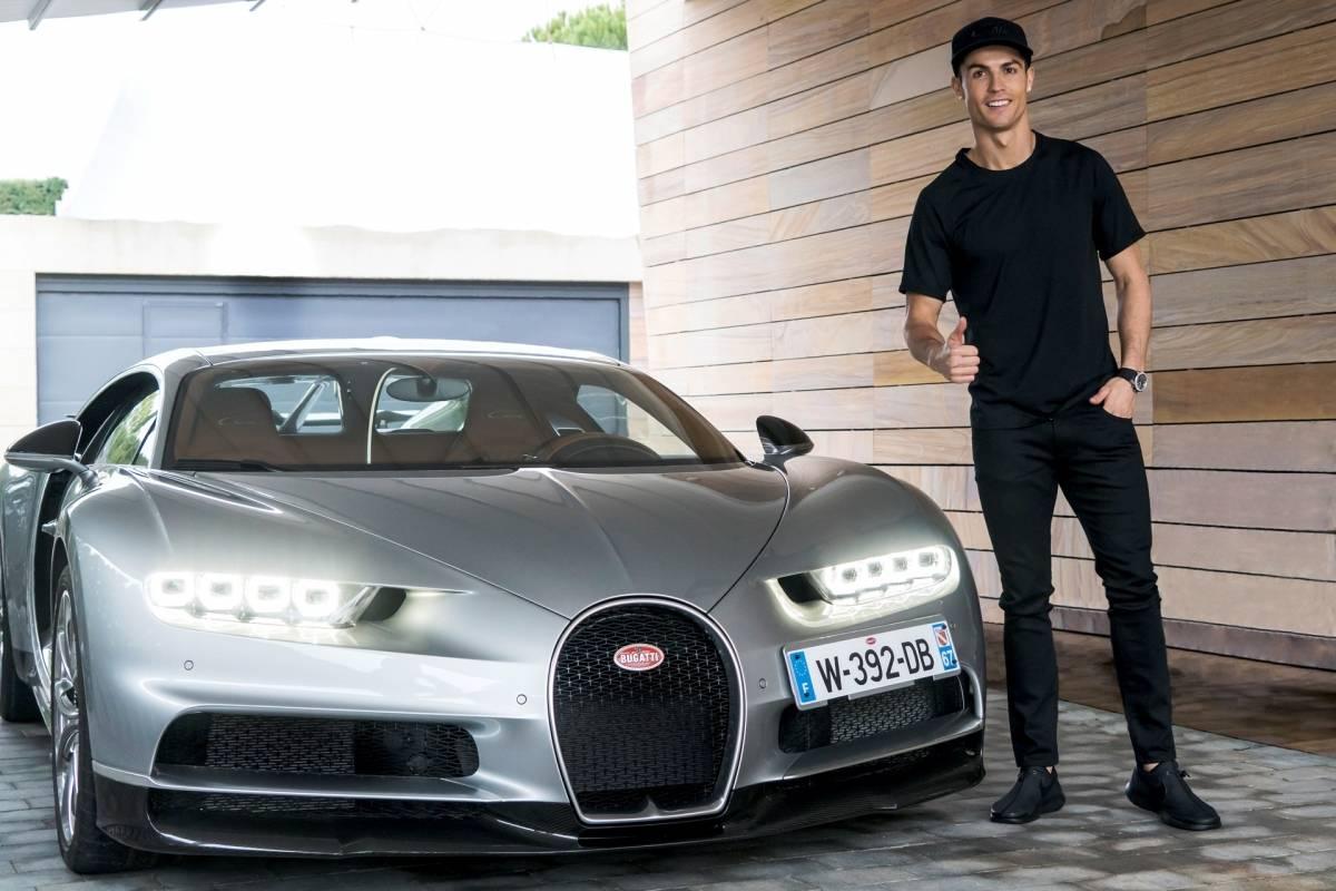Cristiano Ronaldo es un apasionado de los autos deportivos
