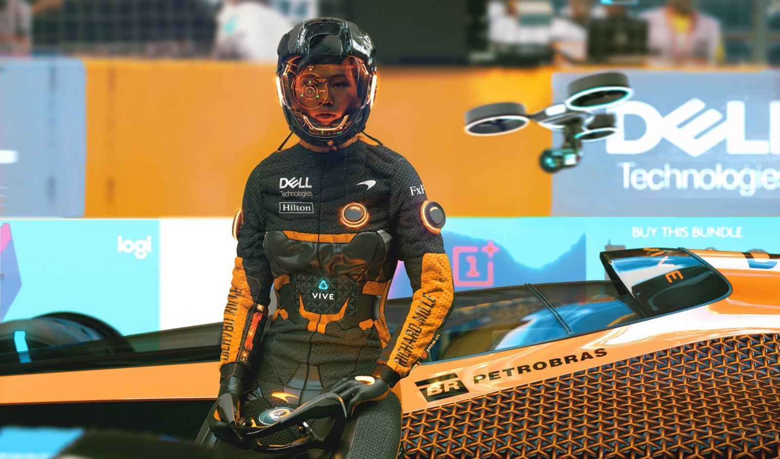 McLaren F1 2050 Pilot