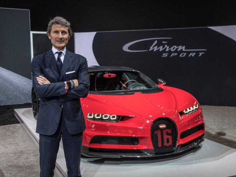 Stephen Winkelmann Bugatti