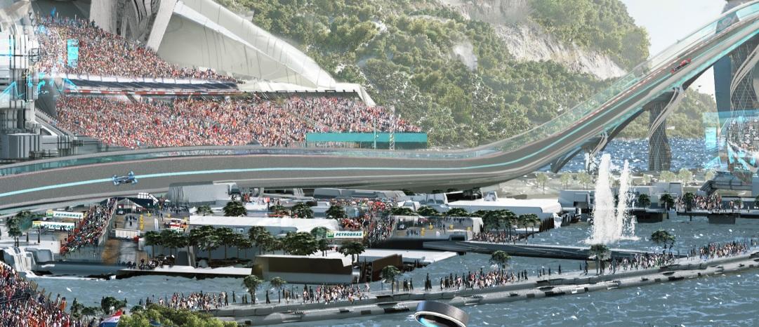 McLaren F1 2050 Concept Track