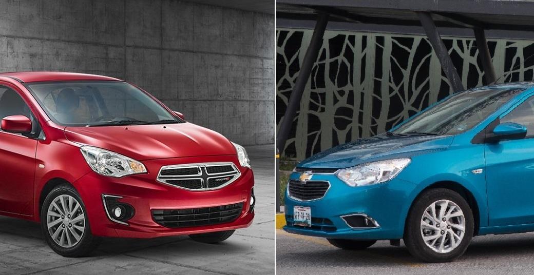 Comparativa: Chevrolet Aveo LTZ TA 2019 vs Dodge Attitude SXT TA