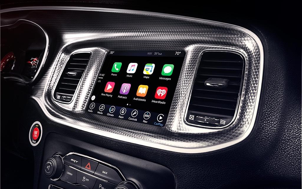 El sistema de infotenimiento de Dodge Charger 2019 precio en México destaca por su carácter intuitivo