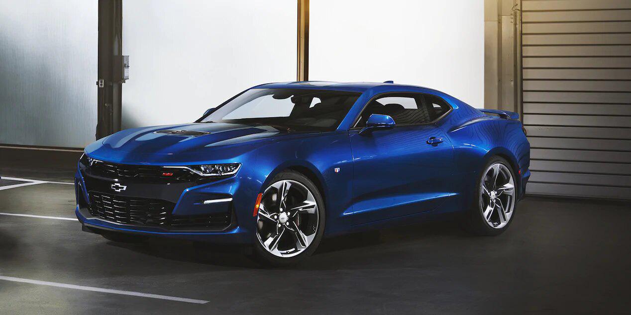 El Chevrolet Camaro tiene la versión RS 2019 con un motor V6 3.5 litros